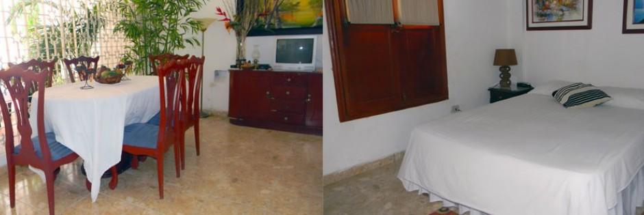 Comedor y habitaciones  Fuente casahotelpedregal com